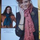 Crochet Pattern Waikiki Fringe Scarf Pattern 1 Cent USA Shipping Specials