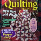 Quilting Today Pattern Magazine # 57 Dec 1996 Quilt Patterns