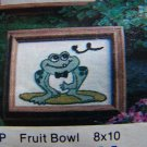 Vintage 1980 Punch Needle Embroidery Kit Town Toad # 454P USA 1 Cent Shipping