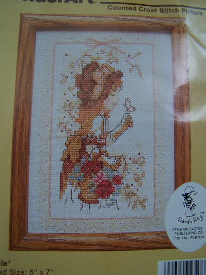 Vintage Wonder Art Priscilla Counted cross stitch Pattern 1 Cent USA S&H