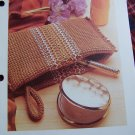 Vintage Evening Bag Purse Crochet Pattern USA 1 Cent S&H