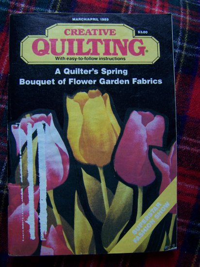 Vintage Creative Quilting Pattern Magazine March April 1989