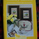 Vintage Country Kitchen Accessories Cross Stitch Applique Sewing Patterns Book