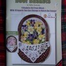 Folk Art Door Baskets Wood Patterns Decorative Painting 9716 Kathy Sweeney