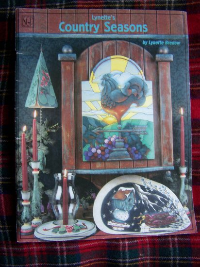 Lynette's Country Seasons Craft Painting Book How to and Patterns