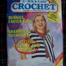 Quick and Easy Crochet Patterns magazine March April 1993