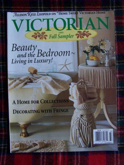 Victorian Sampler Magazine Fall 1993 Back Issue