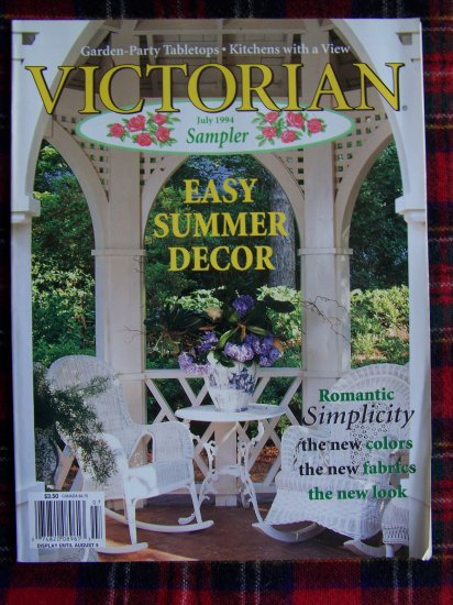 Victorian Sampler Back Issue Magazine July 1994