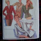 Vintage Sewing Pattern Butterick 6466 Jacket Blazer Suit Misses Bust 36