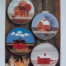 Vintage Kansas Threads Patterns for Needlepoint or Quilting Seasonal Country Barns 103