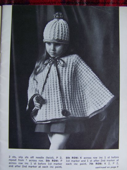 USA 1 Cent S&H Vintage Knitting & Crochet Patterns For Children 6 Months - 6 Years Star Book 231
