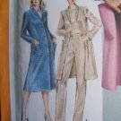 Vintage Slim Skirt Straight Leg Pants Unlined Coat Jacket Bust 36 Sewing Pattern 9834