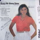 USA 1 Cent S&H Vintage Shirt Raglan Short Sleeves Sewing Pattern 7492