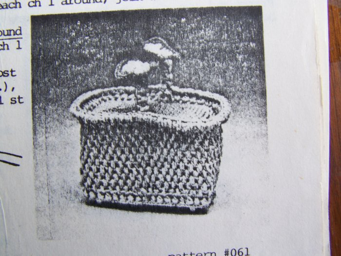 S&H Special Vintage Kitchen Crocheting Patterns Appliance Toaster Cover