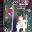 Vintage Pattern Book Sock Toys and Dolls Stuffed Animals