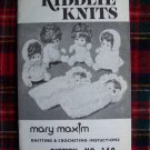 Vintage Kiddlie Knits Mary Maxim Knitting & Crocheting Baby Doll Clothing Patterns