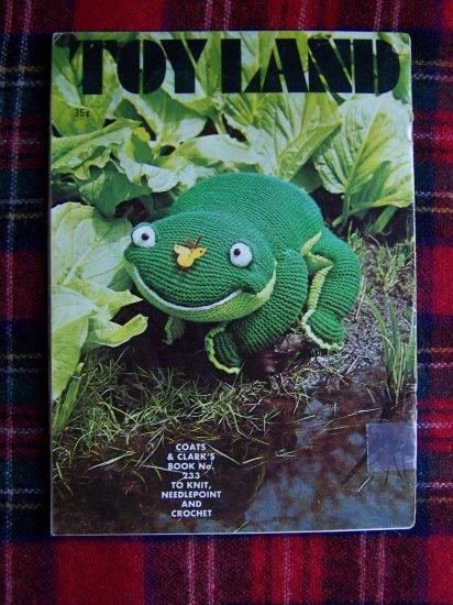 USA 1 Cent S&H Vintage Crochet Knitting Needlepoint Stuffed Animal Toys Dolls