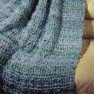 USA Specials Lion Brand Homespun Waterfall Crochet and Knitting Afghan Patterns