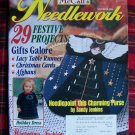 McCall's Needlework Magazine Nov 1996 Christmas Winter Patterns