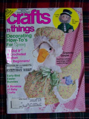 65 Patterns March 1994 Crafts n Things Back Issue Craft Pattern Magazine