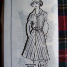 Vintage Kate Marchbands Shirtwaist Day Dress Mail Order Sewing Pattern 1439