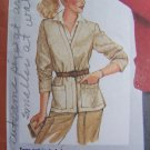 USA 1 Cent S&H 80's Vintage Unlined Jacket Sewing Pattern 5237 Size 14