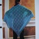 USA 1 Cent Shipping Vintage Lacy Wrap Shawl Knitting Pattern