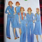 Vintage Sewing Pattern 4660 Misses Sz 14 Jacket Vest Skirt Pants