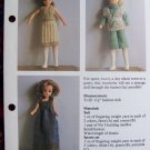 USA 1 Cent S&H Vintage Teenage Doll's Clothes Wardrobe Knitting Patterns