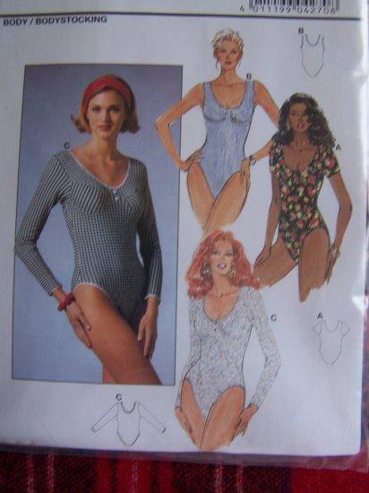 Burda Sewing Pattern 4270 Misses Bodystocking Body Suit 6 8 10 12 14 16