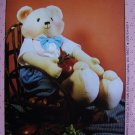 Uncut 90's Soft Sculpture Christopher Teddy Bear Stuffed Animal Sewing Pattern