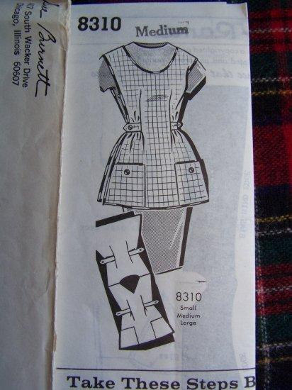 USA 1 Cent S&H Patt O Rama Vintage Apron Sewing Pattern Sue Burnett 8310