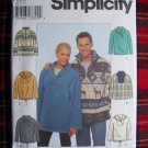 Simplicity Sewing Pattern 8857 Misses Mens Teens Winter Shirt Sz L XL