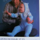 USA 1 Cent S&H Vintage Knitting Pattern Scandinavian Baby Pram Suit