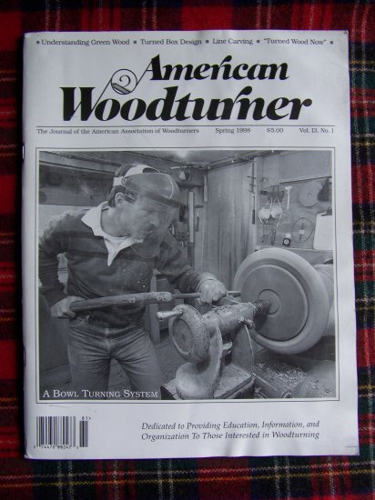 American Woodturner Spring 1998 Back Issue Magazine Woodworking