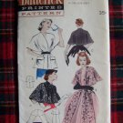 50's Uncut 6039 Vintage Sewing Pattern Quick Easy Stoles Capes Wrap Stole Cape
