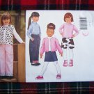 Children's Butterick Sewing Pattern 6785 Winter Jacket Vest Top Skirt Pants Sz 2 3 4 5