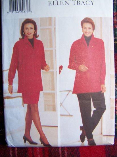 Butterick Sewing Pattern 4679 Pullover Tunic Top Tapered SKirt Pants Linda Allard Ellen Tracy