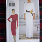 Uncut Vogue Sewing Pattern 7020 Cocktail Dress Evening Bias Drape Gown 14 16 18