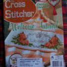 October 2001 Autumn The Cross Stitcher Pattern Magazine Fall Thanksgiving
