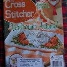October 2001 Autumn The Cross Stitcher Pattern Magazine Fall Thanksgiving