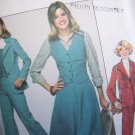 Misses Vintage Sewing Pattern 8155 Pants Skirt Suit Unlined Blazer Jacket Vest Bust 32 1/2