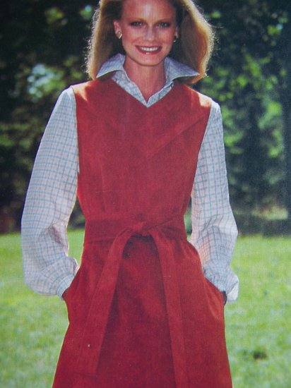 1 Cent USA S&H Vintage Jumper Dress Sewing Pattern 5843