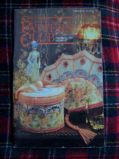 Annies Attic QUick & Easy Crafts Pattern CLub Book # 67 Feb MArch 1991
