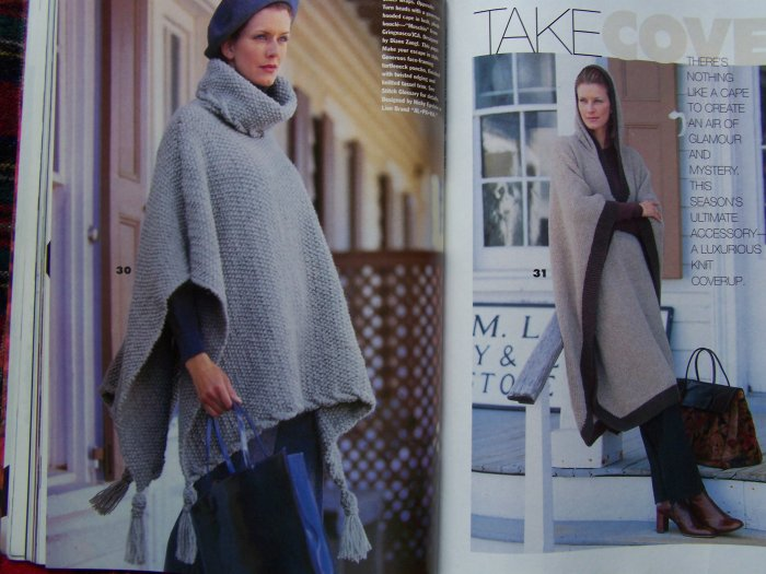 Fall 1998 Vogue Knitting International Runway 35 Patterns Magazine