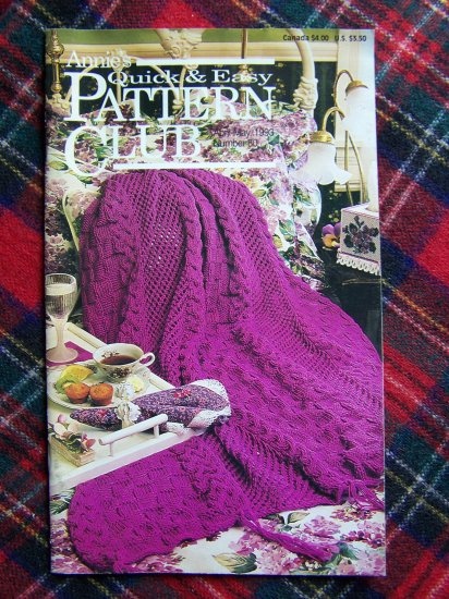 Patterns Plastic Canvas Crochet Embroidery Knitting Sewing Book 80 Annies