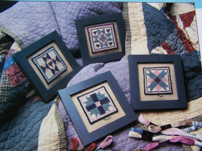 USA 50 Cent S& H Punch Embroidery Quilt Blocks Patterns