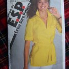 USA 1 Cent S&H  Vintage Misses Sz 12 14 Tunic Top Sewing Pattern 9362