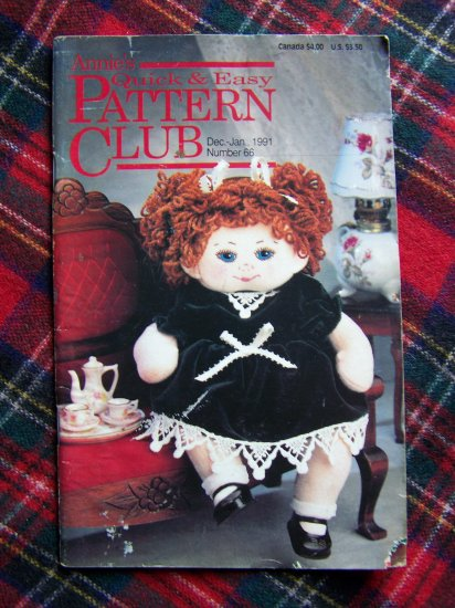 Annie's # 66 Quick & Easy Pattern Club Back Issue Magazine