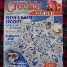Crochet Patterns Pineapple Apron & Doily Baby Afghan Lapghan Pillow